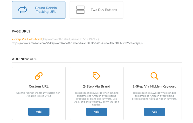 Amazon Marketing URLs