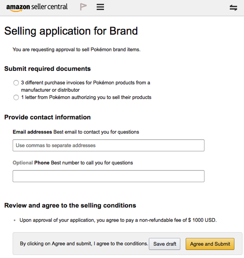 Sell Restricted Brands on Amazon