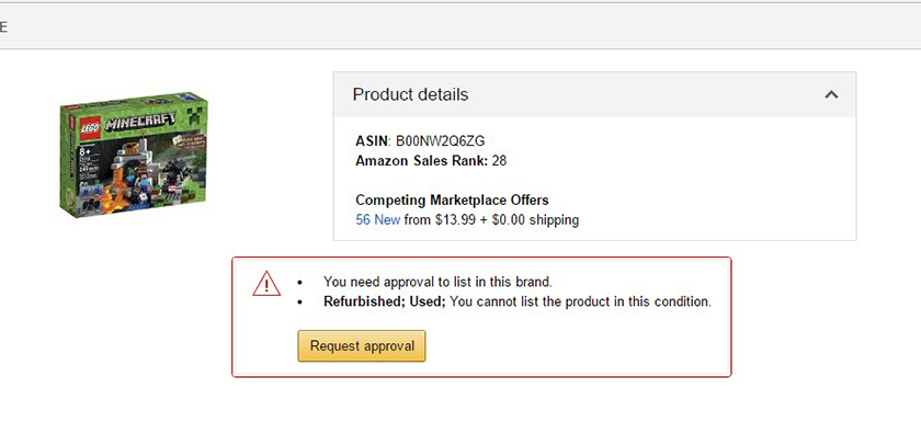 Brand Gating Amazon FBA