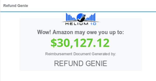 Amazon Reimbursements