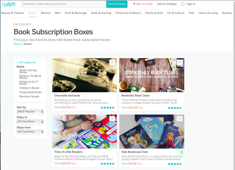 find private label product ideas using subscription boxes
