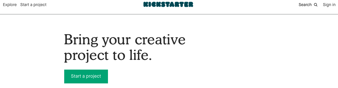 use kickstarter to find private label product ideas