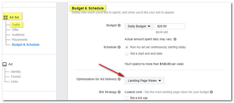 how to create amazon facebook ads