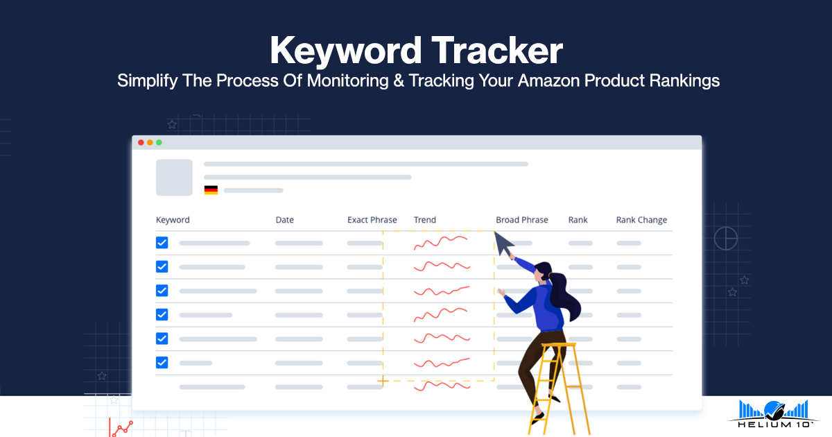 Keyword Tracker - Amazon Product Rank Tracking | Helium 10