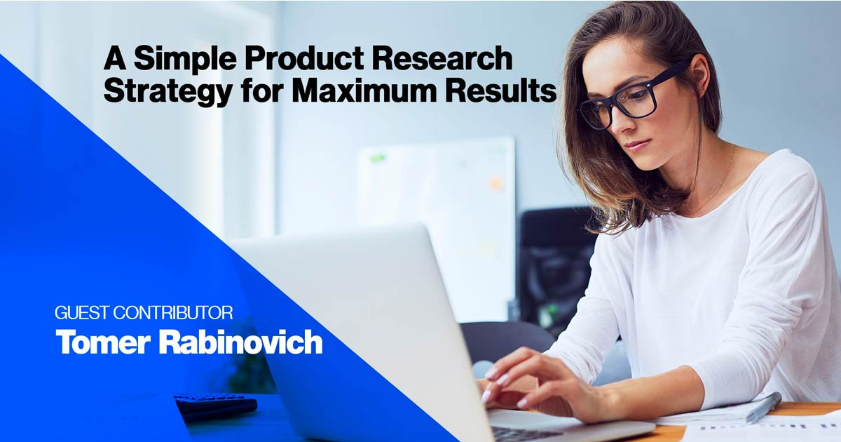 Amazon product research strategy