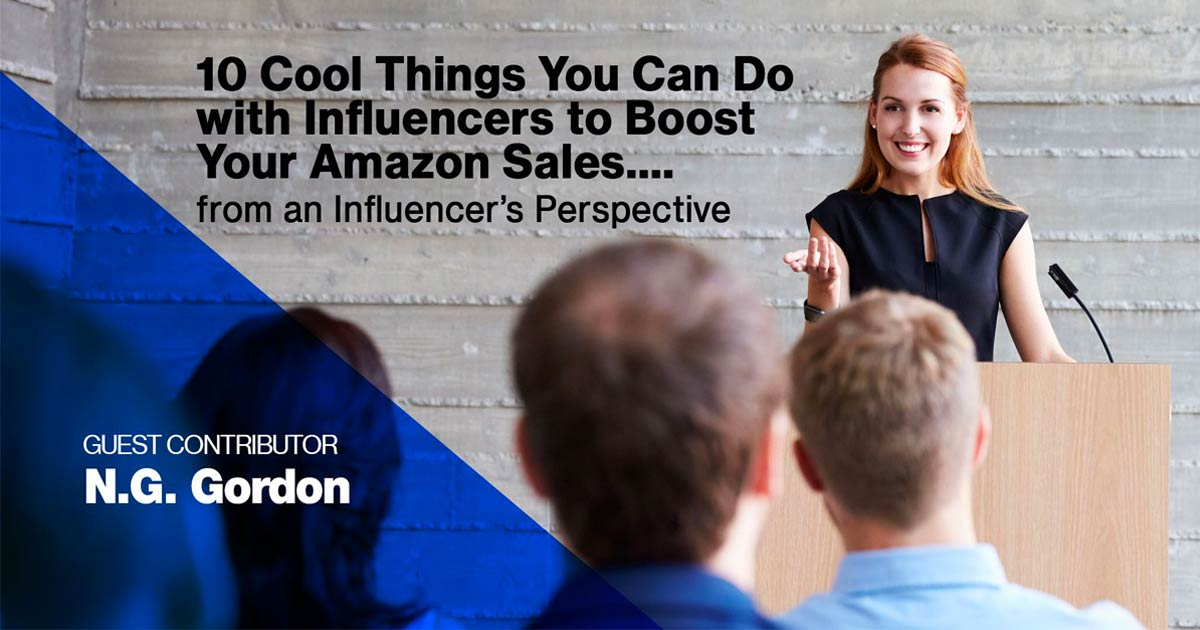 The Amazon influencer program isn't the only way for a brand to leverage influencers. Learn best practices for using influencers to grow Amazon sales