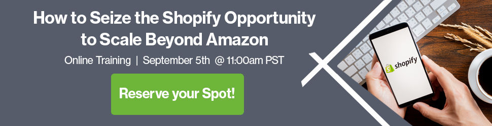 Amazon to Shopify expansion webinar