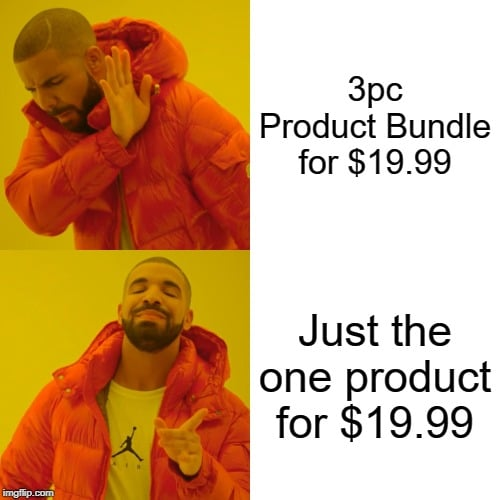 amazon product bundling