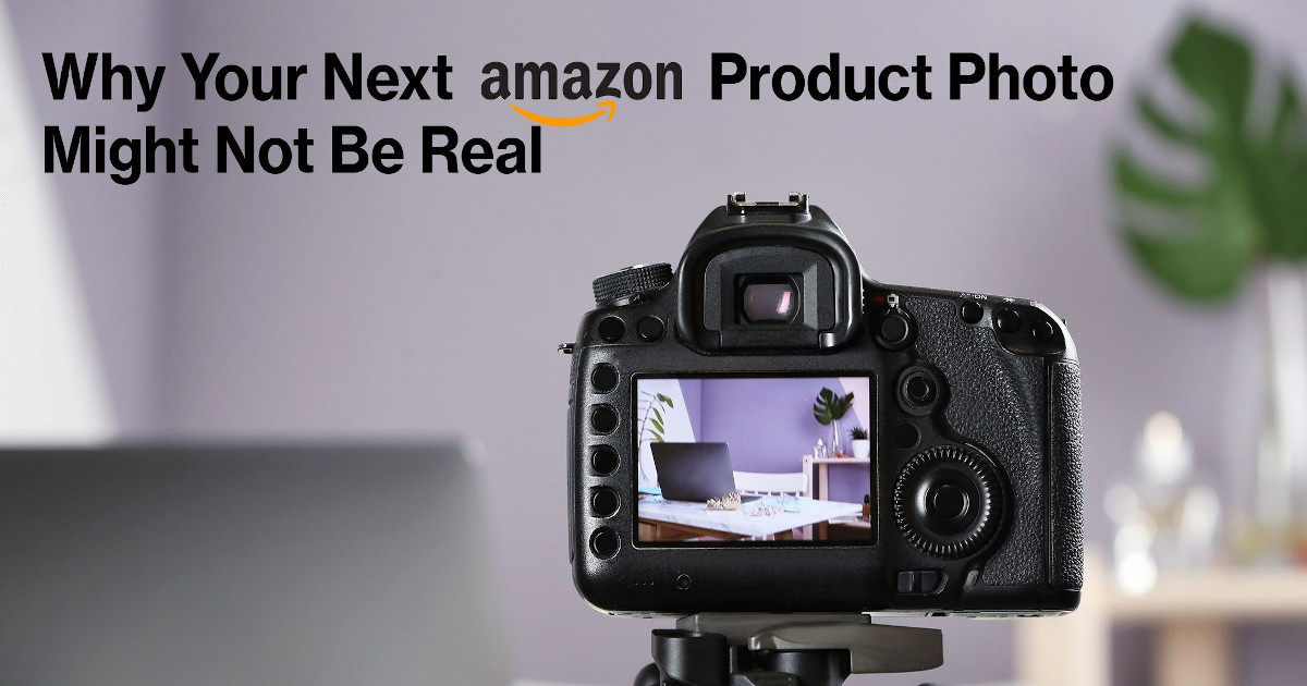 your amazon product photo not real