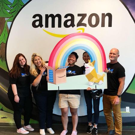 helium 10 team visited amazon fulfillment center
