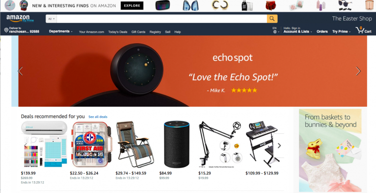 Amazon Optimizes Impulse Buying