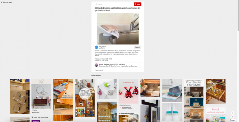 how to use pinterest to find new private label products