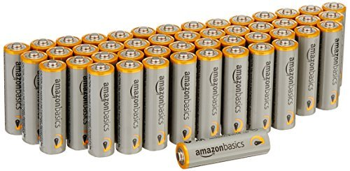 *AmazonBasics AA Performance Alkaline Batteries (48 Count) – Packaging May Vary