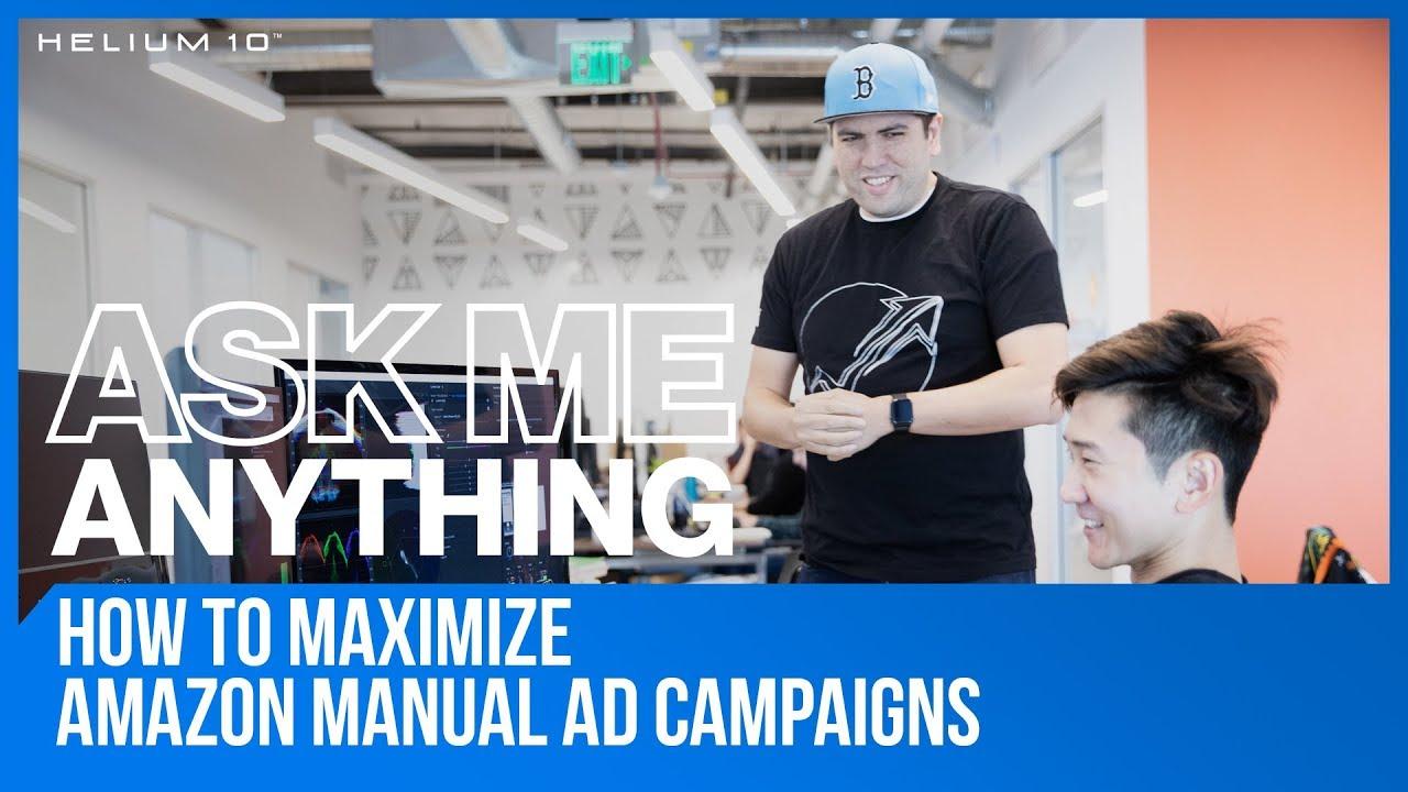 Amazon manual campaign