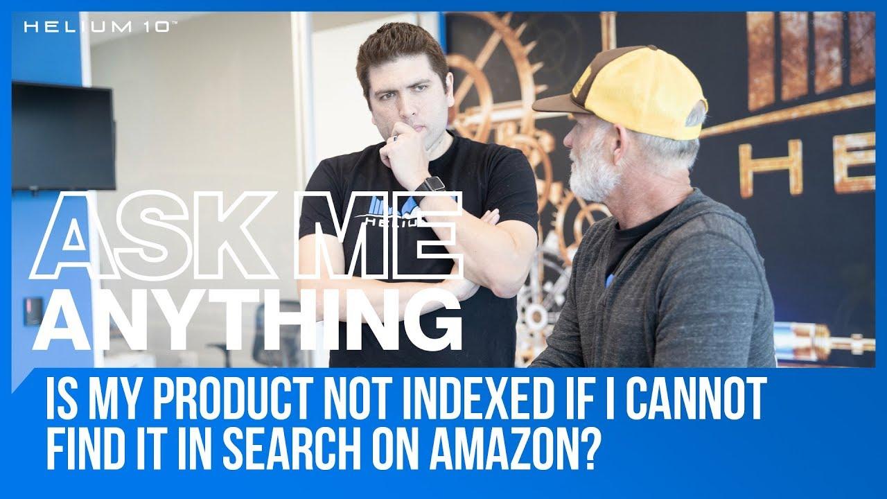 amazon product indexing