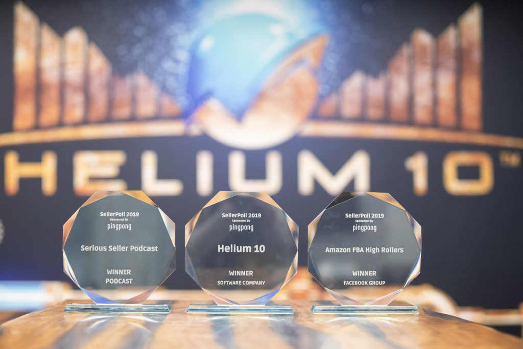 Helium 10 awards