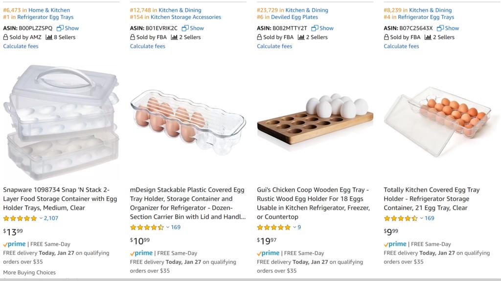 Amazon products