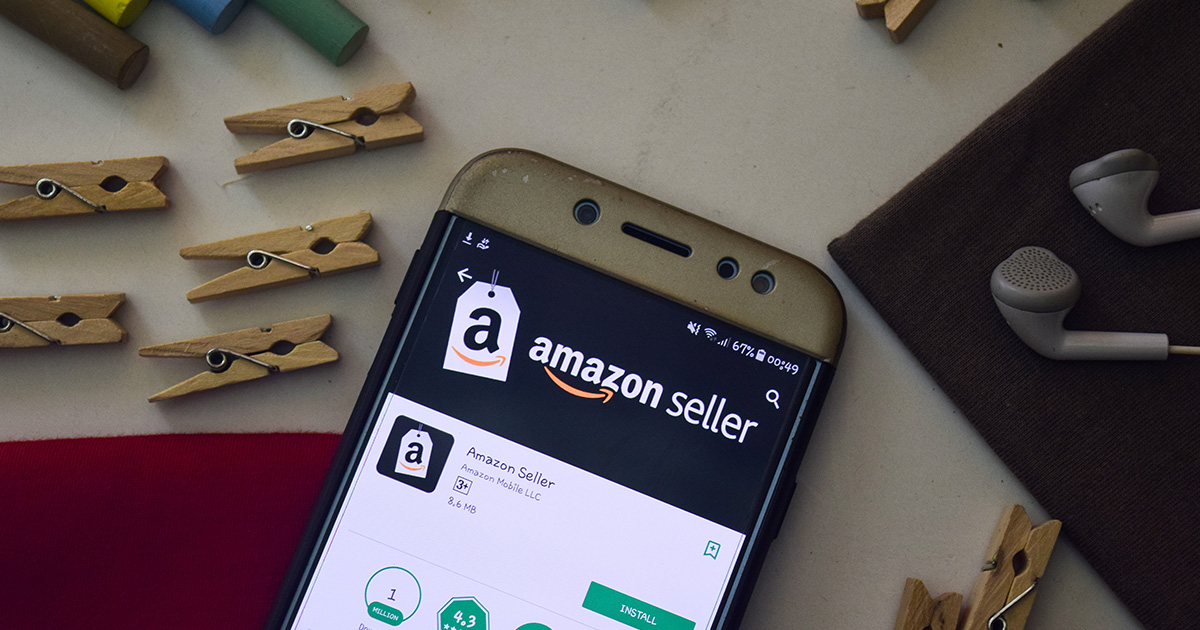 Amazon FBA business on mobile device