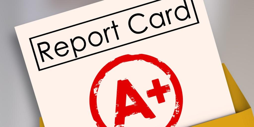 amazon report card