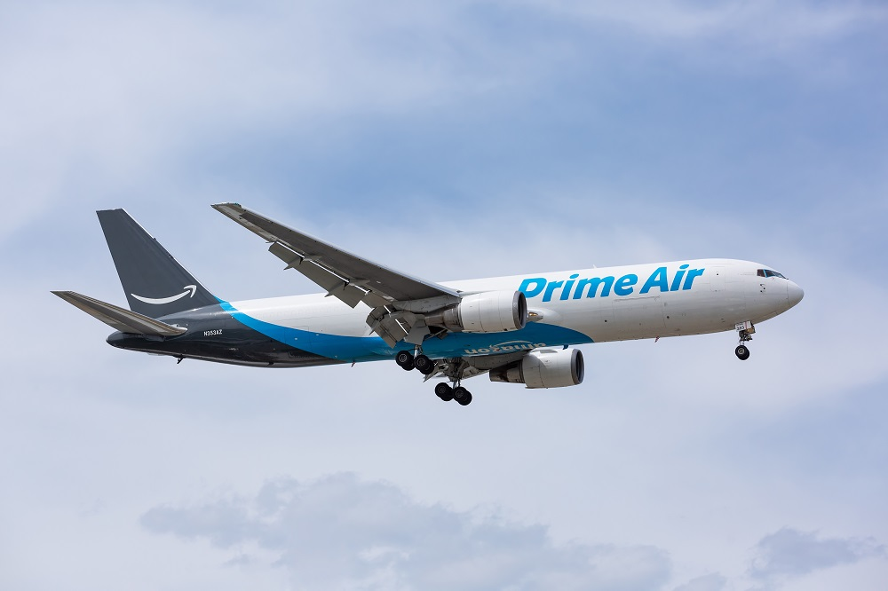 amazon prime delivery by air