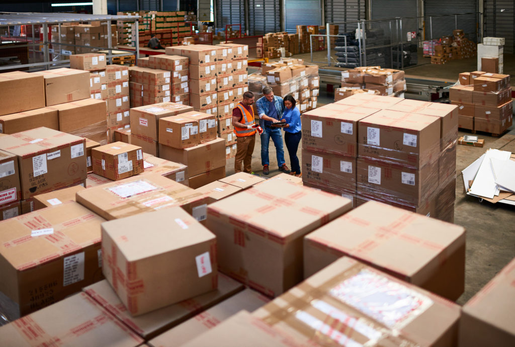 Amazon Container Unloading