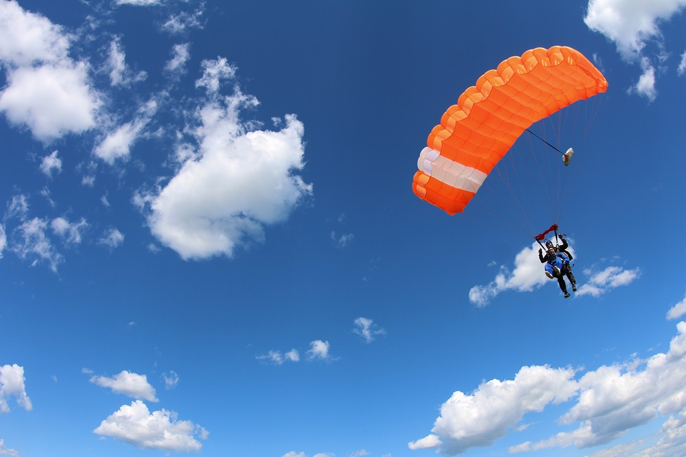 Amazon's Q4 is Just Like Skydiving