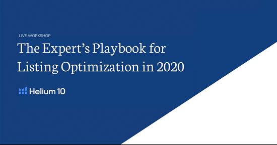 Amazon listing optimization webinar