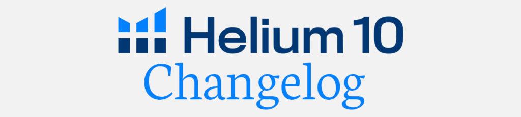 Helium 10 Updates