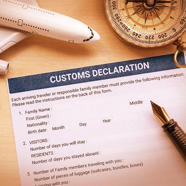 custom declaration