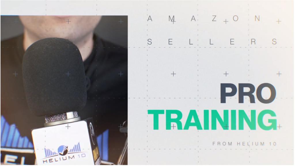 helium 10 pro training