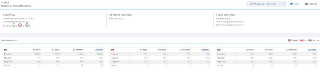 amazon product monitoring tool