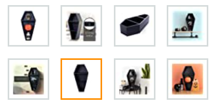 image selection for product listing