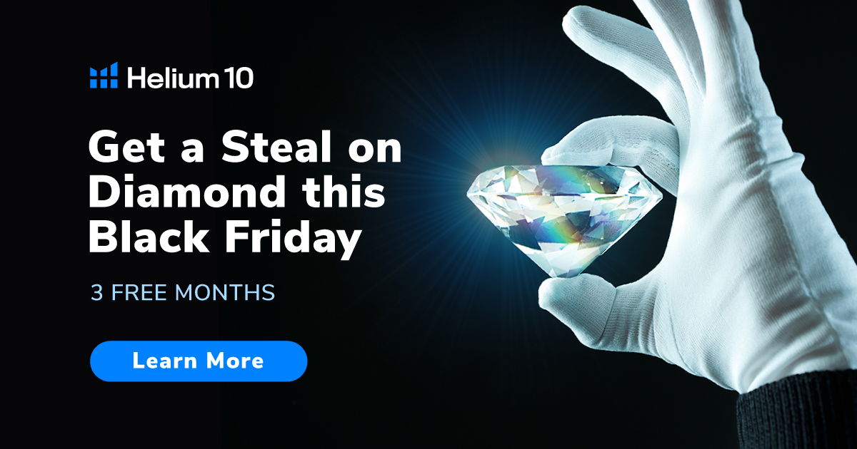 The Helium 10 Black Friday Steal of the Year