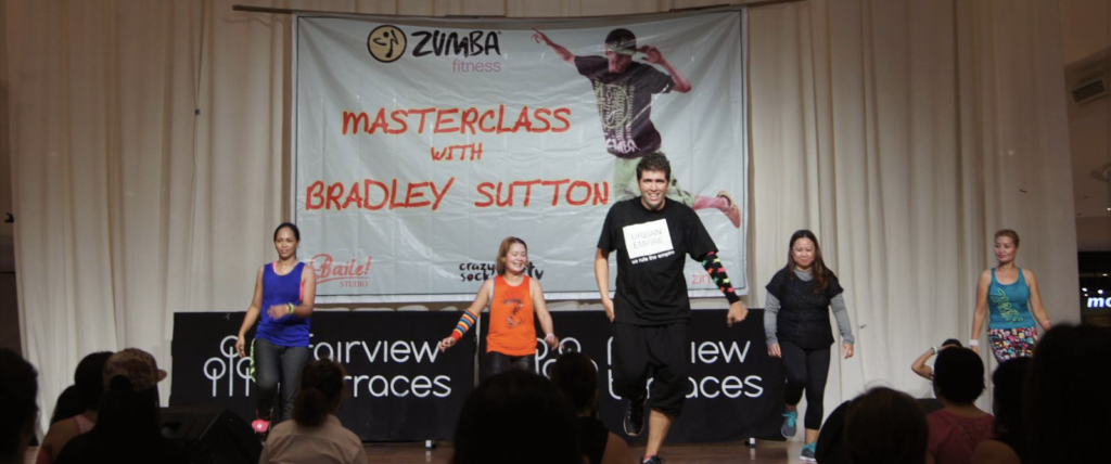 "Bradley Sutton - ""Average Joe"" Zumba Instructor."