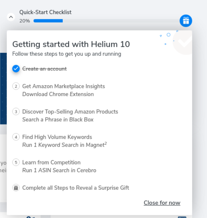 getting started with helium 10