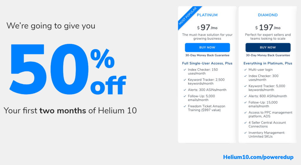 helium 10 offer