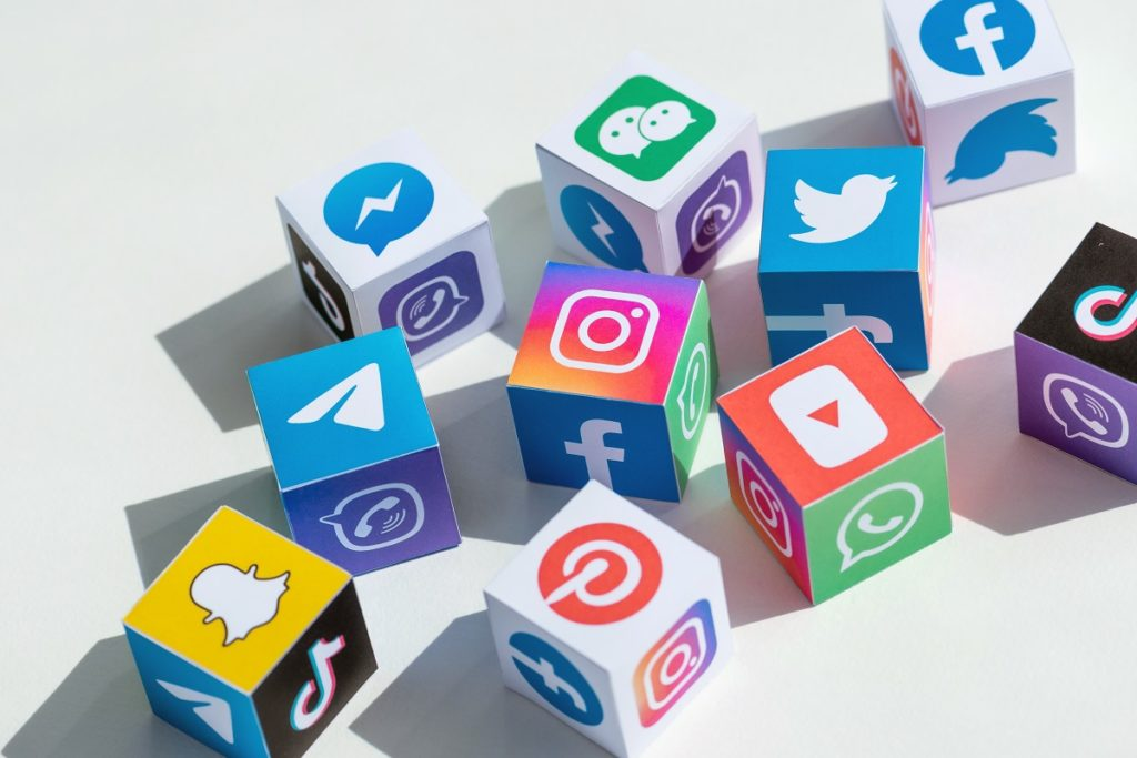 Get on social media