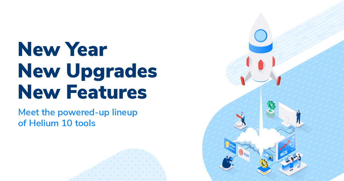 Helium 10 new year, new features webinar 2021