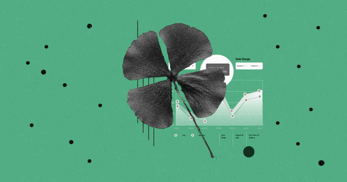 Four leaf clover in front of Amazon ranking strategies