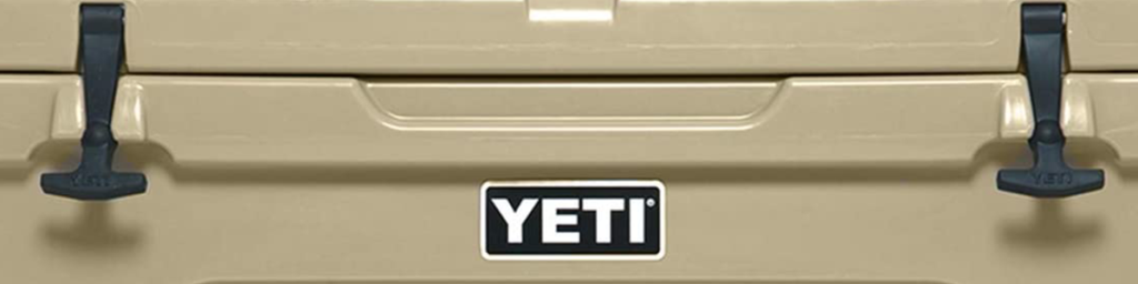 Yeti brand - ice cold product
