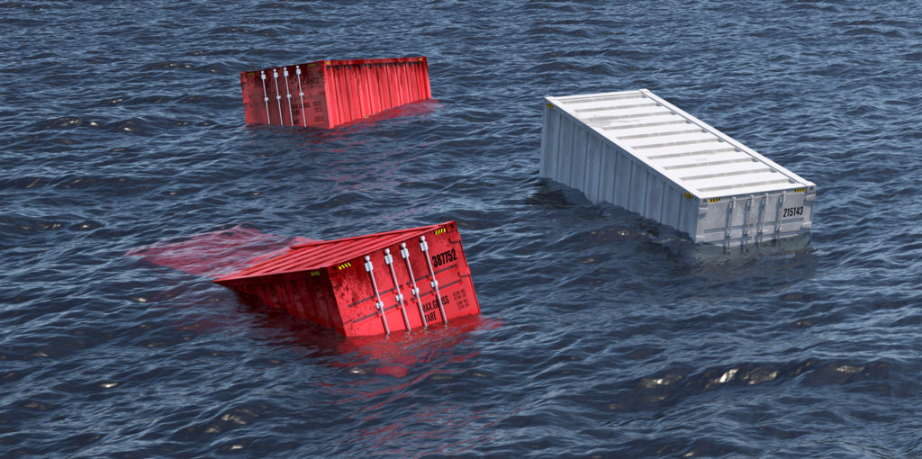 Shipping Containers Are Lost at Sea