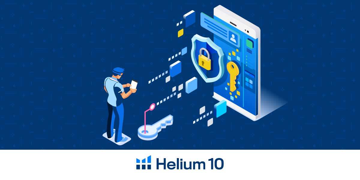 Helium 10 Two-Factor Authentication
