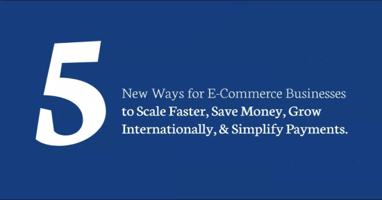scale e-commerce business fast