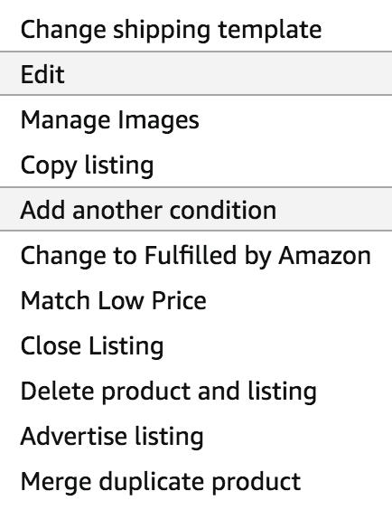 amazon shipping template