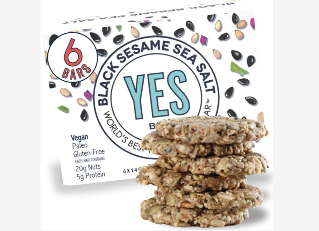 YES Bar brand product example