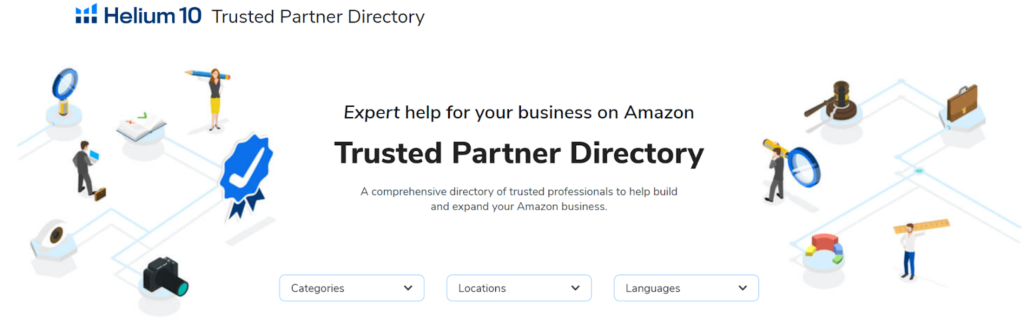 Helium 10 Trusted Partner Directory Example 2