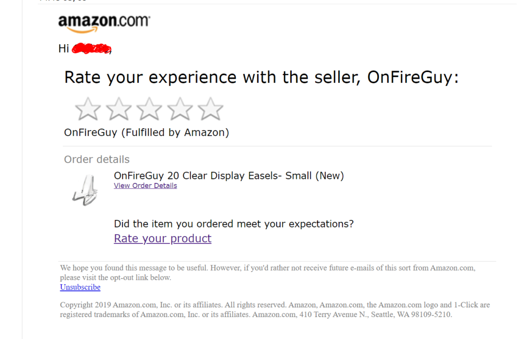 Wait for Amazon to Solicit the Review for You